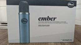 Blue Ember XLR Microphone: Making Podcasting Easier