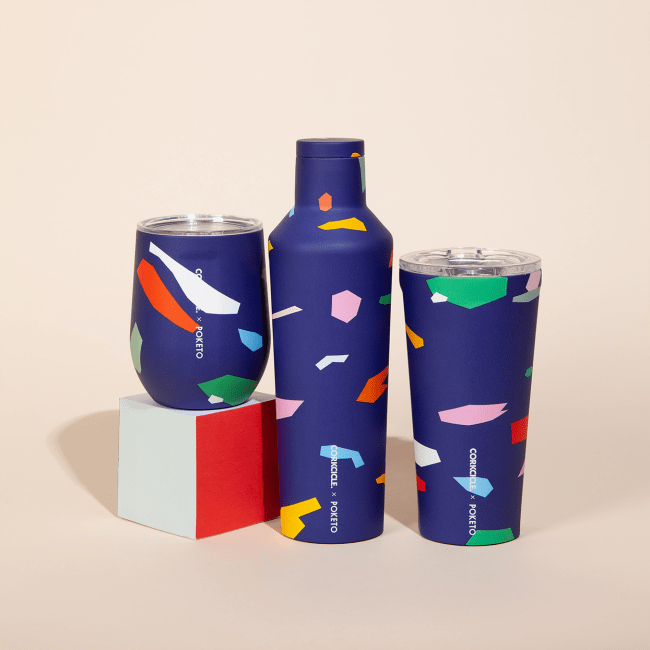 Introducing the Corkcicle x Poketo Series of Tumblers
