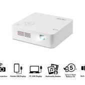 Acer C202i Portable LED Projector Takes the Big Screen Anywhere