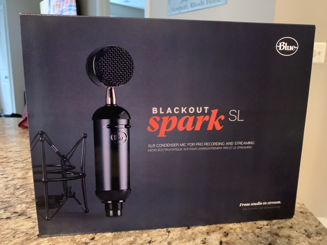 Blue Blackout Spark SL Condenser Microphone Review