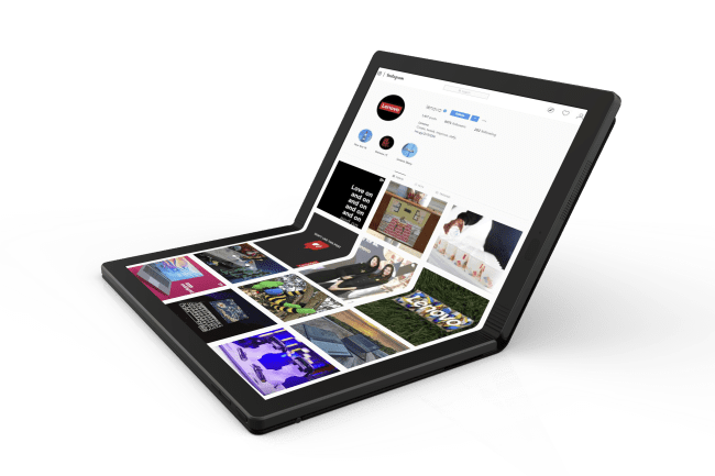 Lenovo Jumps into the Folding Game