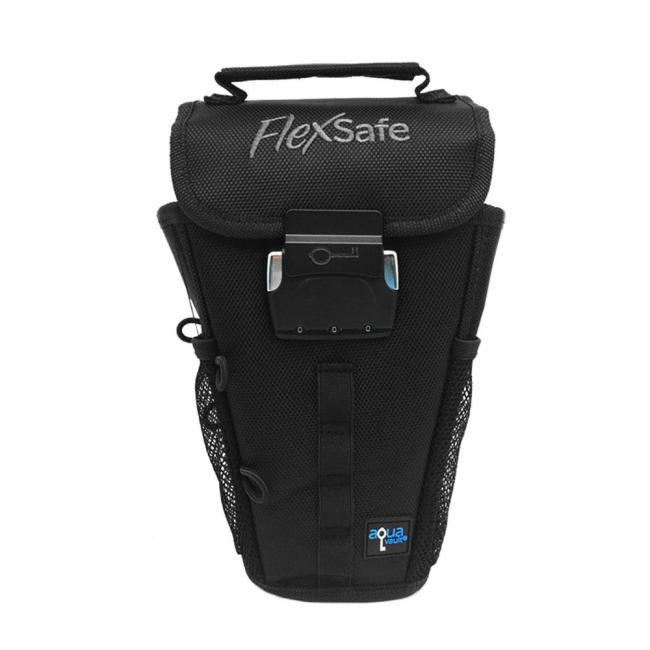 Have Peace of Mind Leaving Valuables at Your Beach Chair with AquaVault FlexSafe