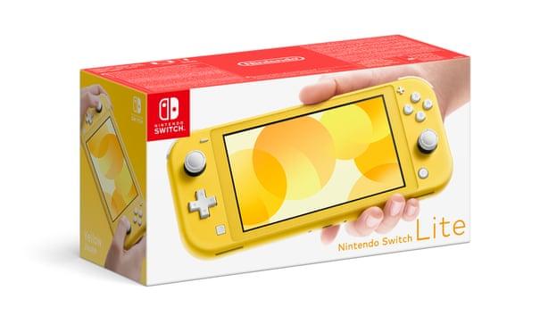 Nintendo Unveils the $199 Switch Lite