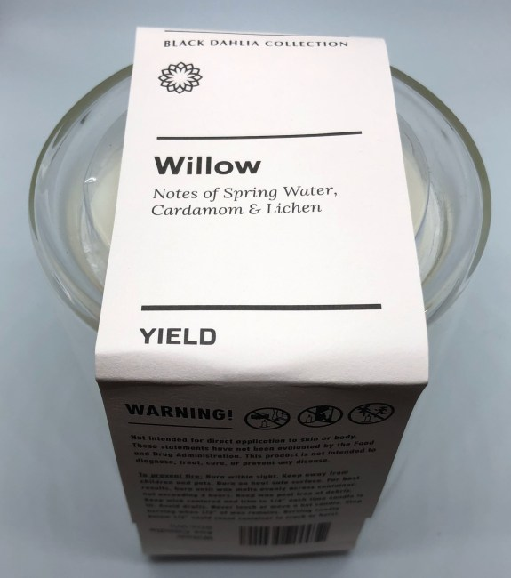 Yield Co's Willow Candle Brings Good Scents and Good Vibes to Any Space
