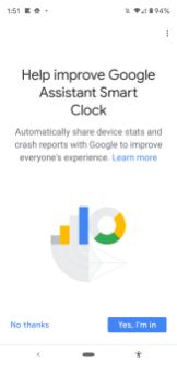Google Home Set-Up Lenovo Smart Clock-004