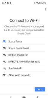Google Home Set-Up Lenovo Smart Clock-005