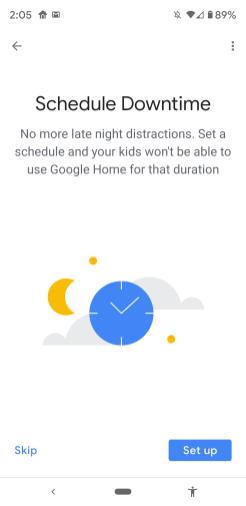 Google Home Set-Up Lenovo Smart Clock-030