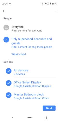 Google Home Set-Up Lenovo Smart Clock-037