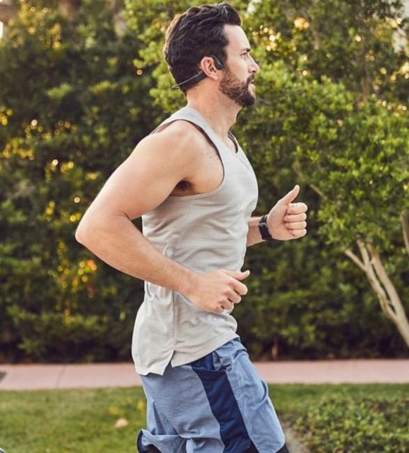 Aftershokz Xtrainerz Bone-Conducting Headphones Add Safety As You Rock Your Run