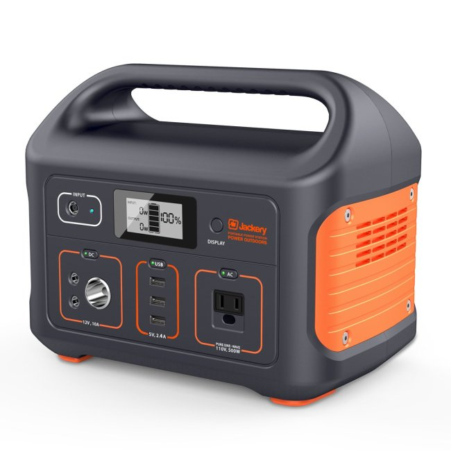 Stay Juiced with the Jackery Explorer 500 Portable Power Station