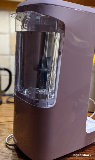 Spärkel Carbonator: Create Your Own Carbonated Drinks without Synthesized Chemicals or CO2 Tanks
