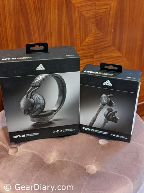 Make Your Workout Enjoyable with Both the FWD-01 and RPT-01 Headphones from Adidas