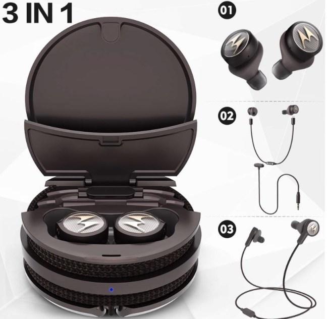 Motorola TECH3 3-in-1 True Wireless Headphones Offer Something New