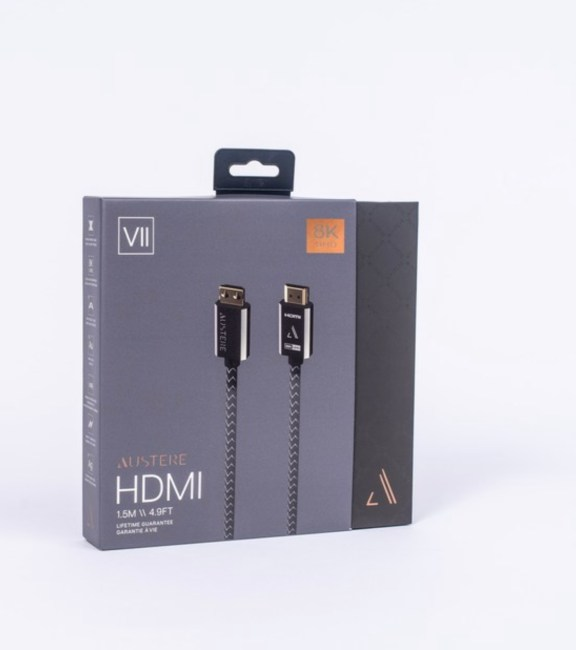 Austere Releases High-End 8K HDMI 2.1 Cable