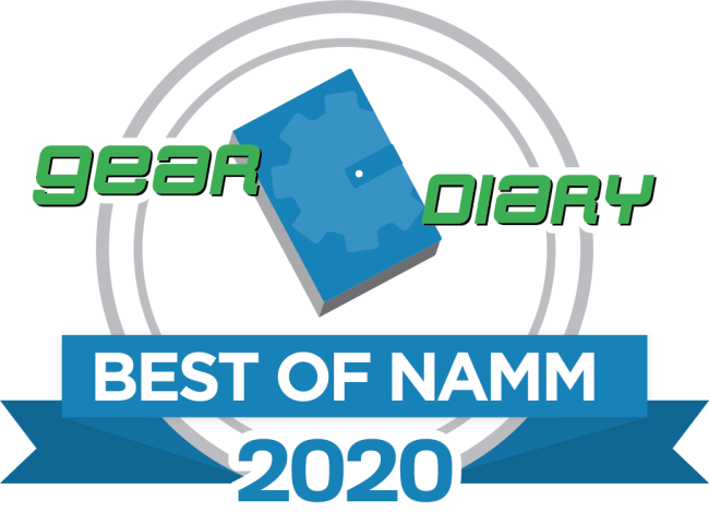 Gear Diary's Best of NAMM 2020 Awards
