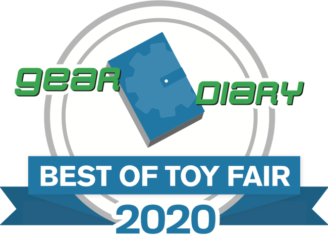 Gear Diary's Best of Toy Fair NYC 2020 Awards