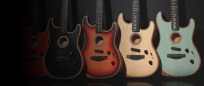 Fender Adds Stratocaster Model to American Acoustasonic Series