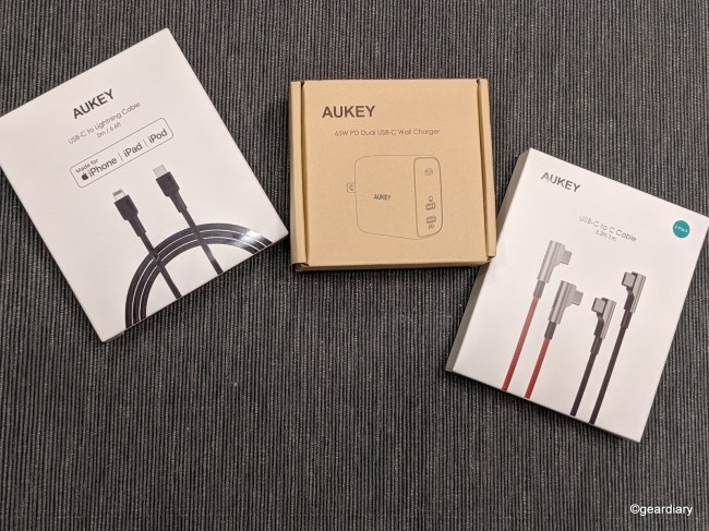 The Aukey Omnia 65W Fast-Charge USB-C Dual Port Charger Is Tiny and Powerful