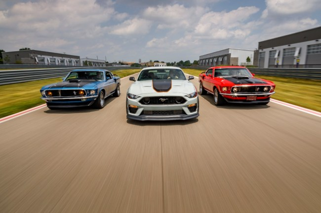 Ford Brings Back the Mustang Mach 1 for 2021