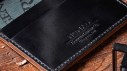 Nomad Shell Cordovan Wallets Celebrate American Craftsmanship and Social Responsibility