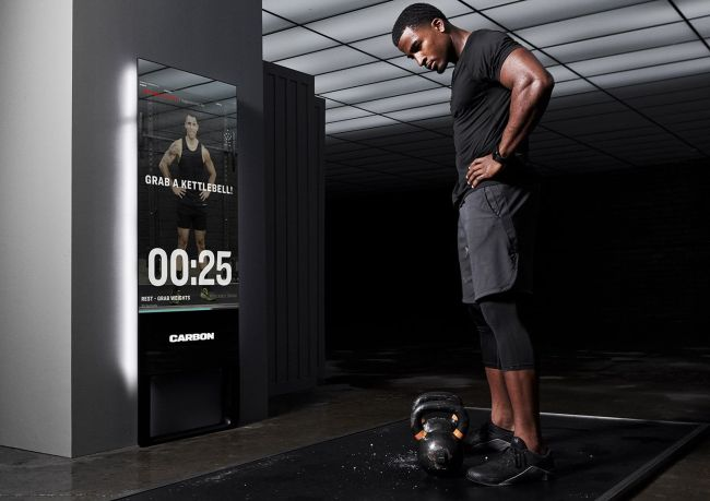Carbon Trainer Is a Magic Mirror on the Wall That Makes You the Fittest One of All