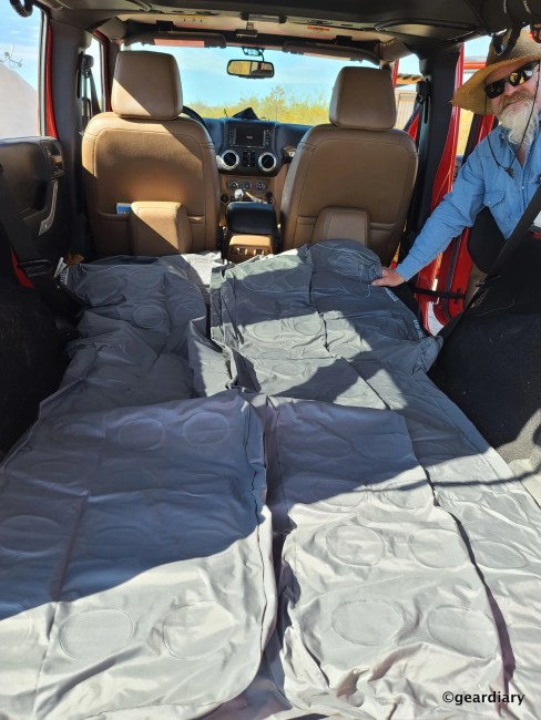 Luno Air Mattress Enables Car Camping at Its Finest
