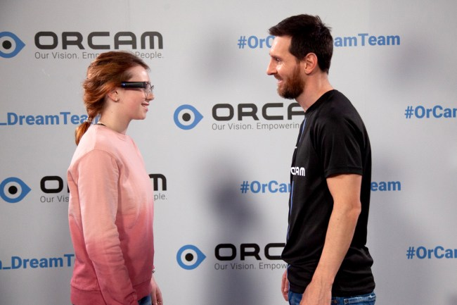 OrCam Teams up with Lionel Messi to Bring New Technologies to Help the Visually Impaired