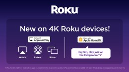 Roku Adds Airplay and HomeKit Support to Select 4K Streaming Players