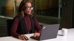 Lenovo ThinkReality A3 Brings Super-Futuristic Augmented Glasses to Enterprise Users