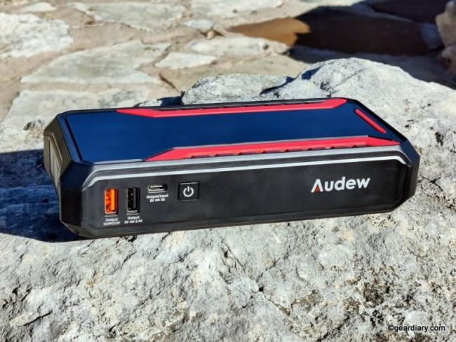 Audew Multi-Function Jump Starter