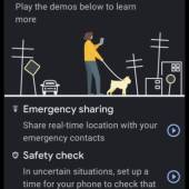 Google Pixel 5 Personal Safety App