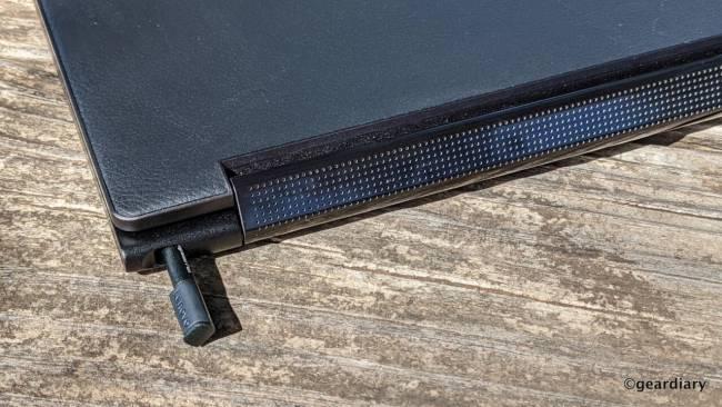 Lenovo Yoga 9i with built-in stylus silo