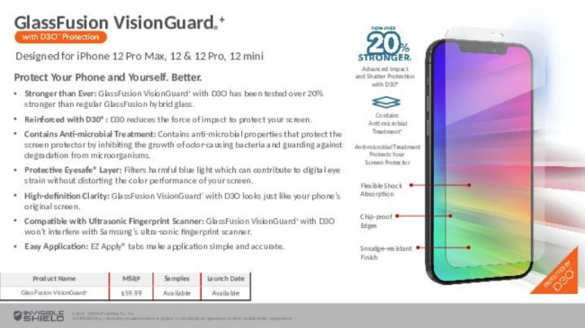 InvisibleShield GlassFusion Screen Protectors