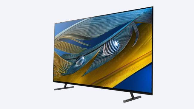 """65"""" Sony BRAVIA XR A80J 4K HDR OLED TV"""