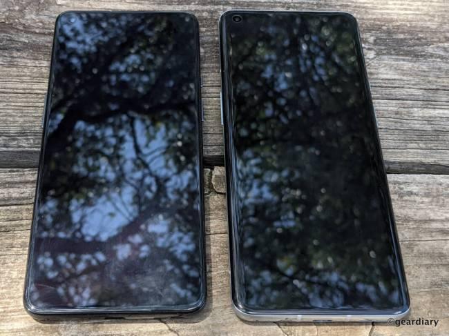 OnePlus 9 next to OnePlus 9 Pro