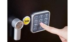 Yale Laptop Alarmed Value Safe