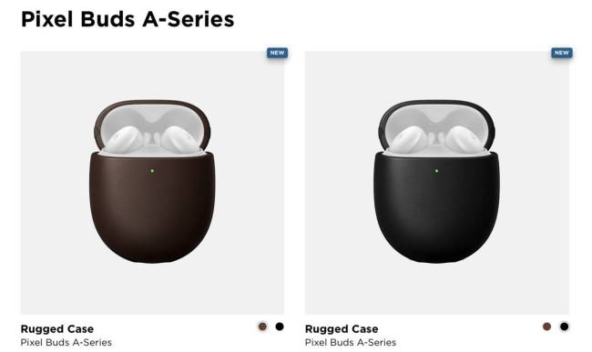 Nomad Rugged Cases for Pixel Buds A-Series
