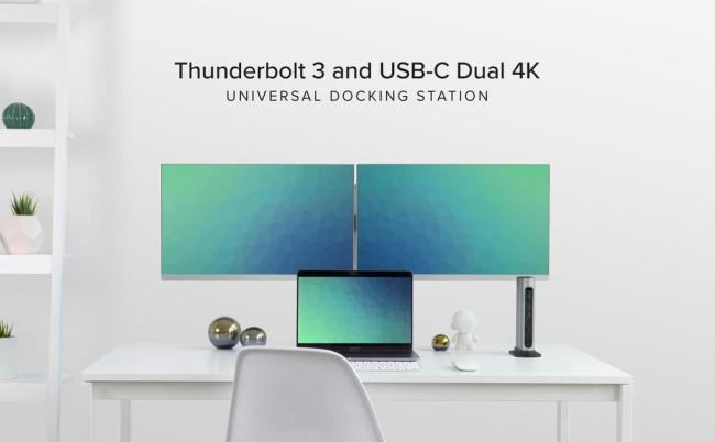 Plugable Thunderbolt 3 Dock