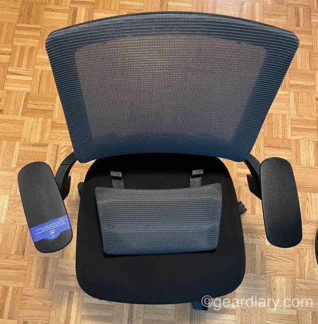 NEXCHAIR with armrests
