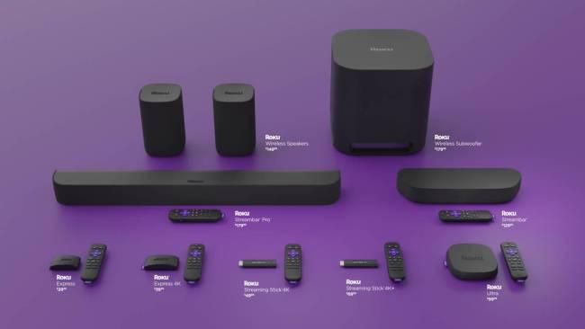 Roku hardware assortment