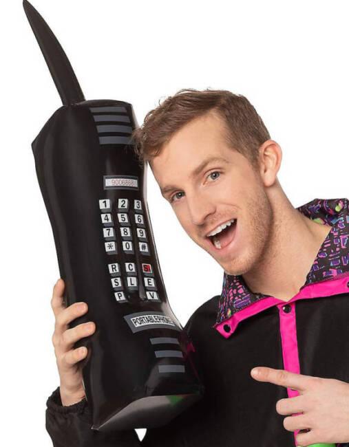 Trigger Happy TV Giant Phone Guy Halloween Costume