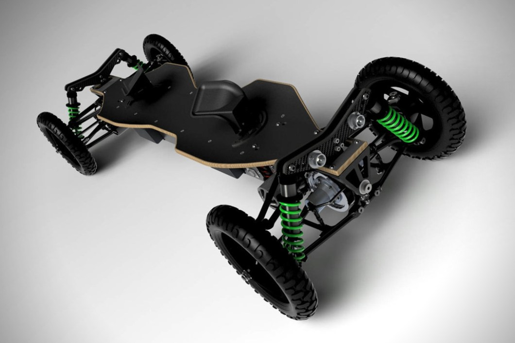 BajaBoard Off-Road Electric Skateboard