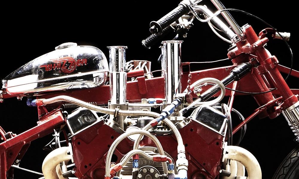 EJ Potter Chevrolet V8 Widowmaker 7 Dragbike