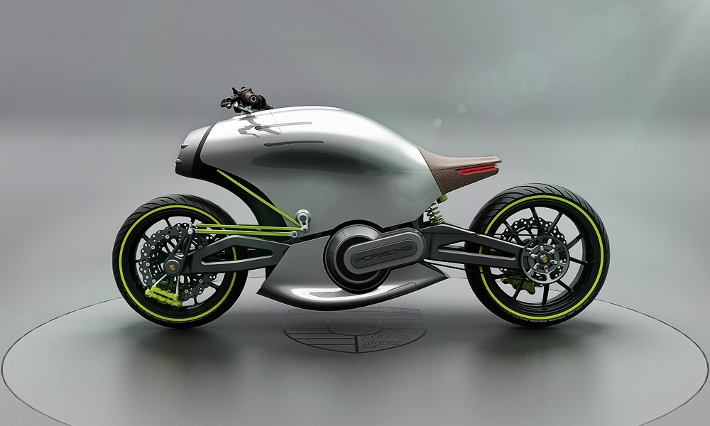 Porsche 618 Motorcycle - Two Wheels Project