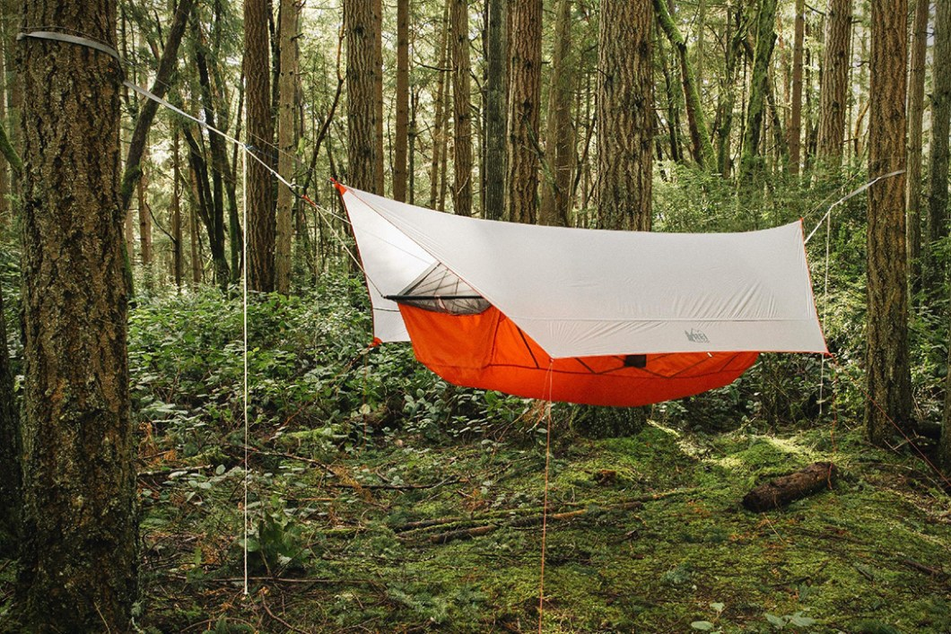 Quarter Dome Air Hammock–More Comfortable Than a Tent