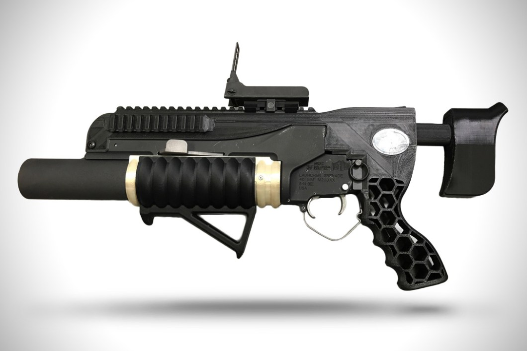 Rambo Grenade Launcher: 3D Printer Project