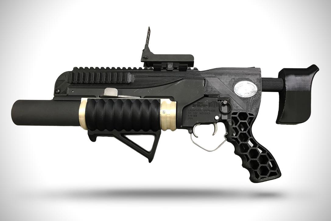 3D Printer Grenade Laucher