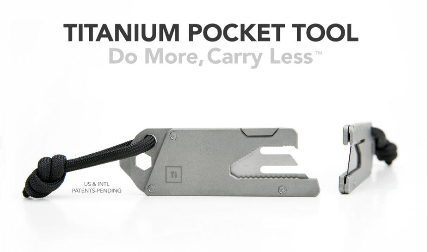 Big Idea Design 13-IN-1 TITANIUM TOOL