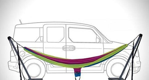 ENO Roadie Hammock Stand: Park Your Car, Hang Your Hammock