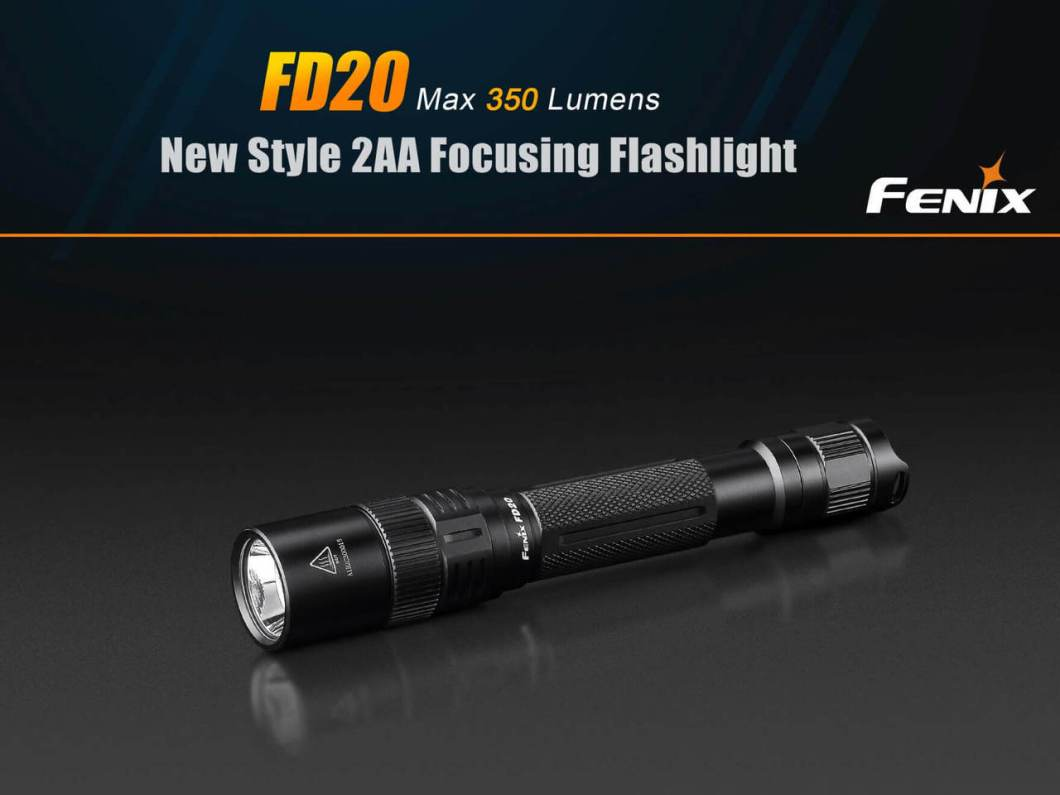 #1 Flashlight Manufacturer Has a Hit: Fenix FD20 Focused-Beam LED Flashlight